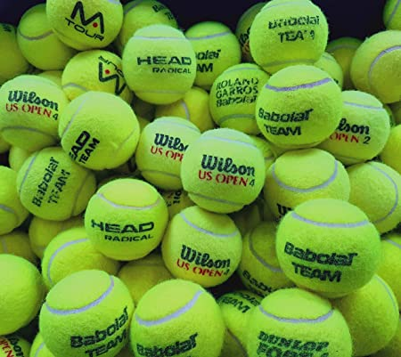 30 Used Tennis Balls: Great Condition Great For Ball