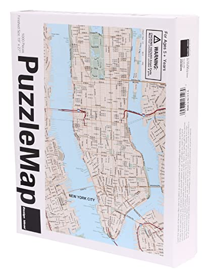 Nyc Subway Map Puzzle.Design Ideas Puzzle Map Nyc