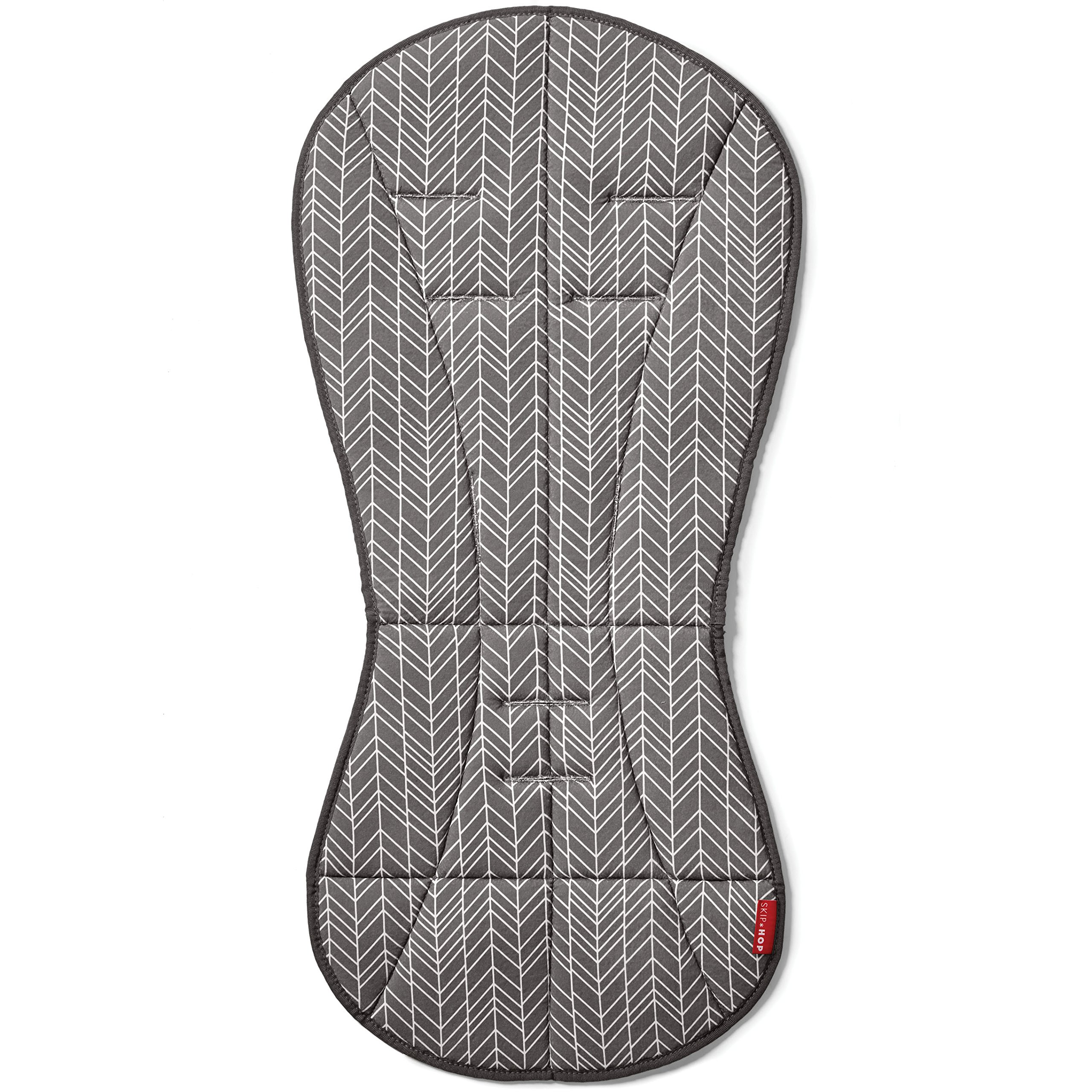 Skip Hop Stroll-and-Go Cool Touch Stroller Liner, Grey Feather by Skip Hop (Image #2)