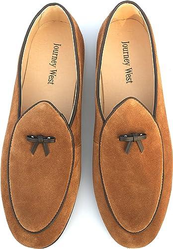 Men's Vintage Loafers for Men Belgian Loafers Slip on Loafer Penny Loafer Casual Loafers