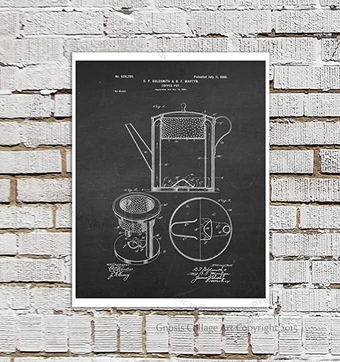 Take Break Coffee Vintage Wall Art Poster Print Great Home Vintage Decor