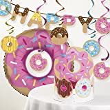 Donut Time Birthday Party Decorations Kit