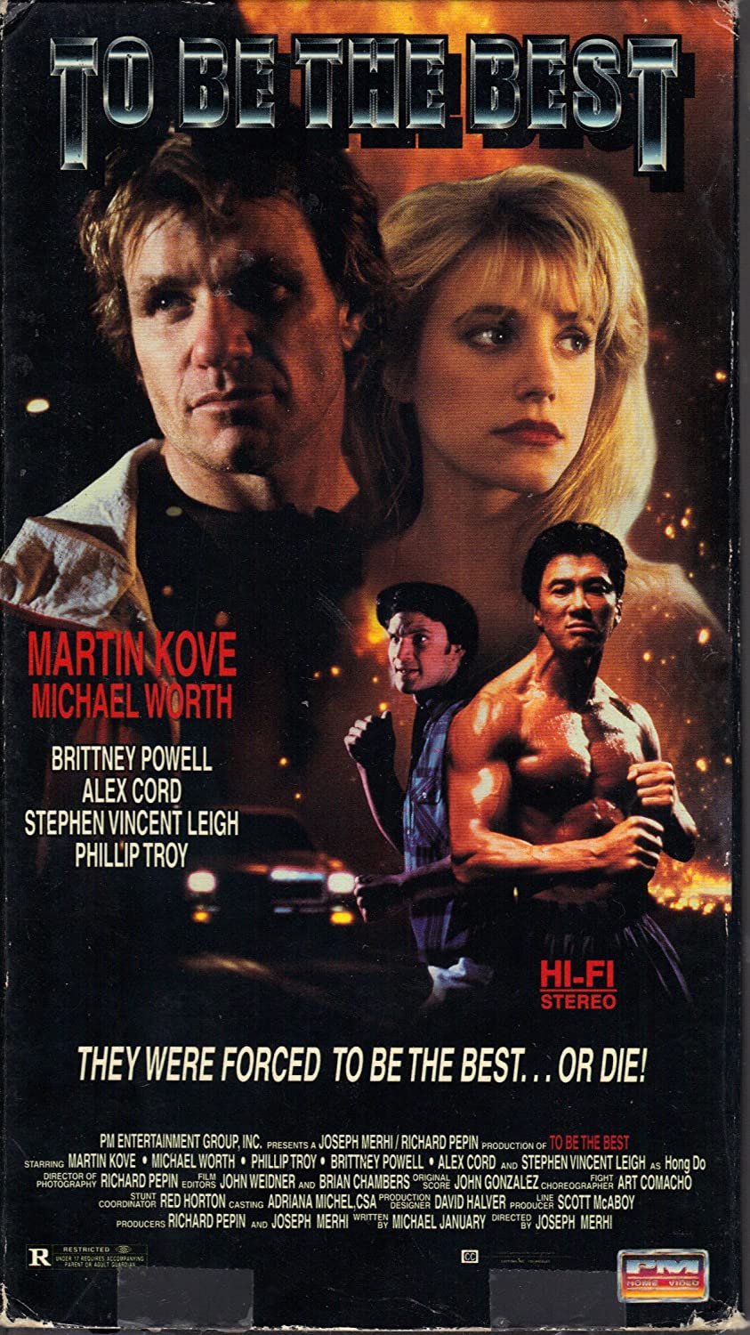 To Be the Best [USA] [VHS]: Amazon.es: Michael Worth (II ...