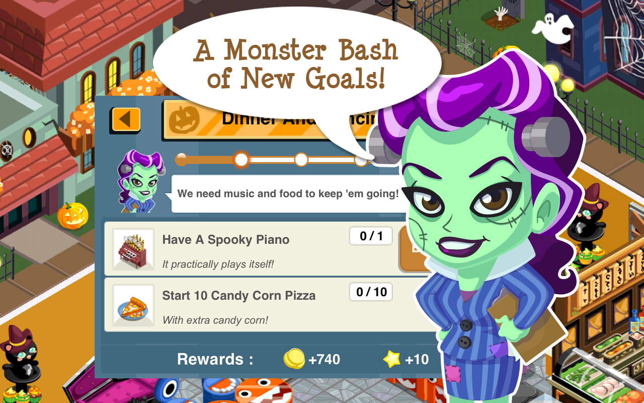 amazon com restaurant story halloween appstore for android 0 00