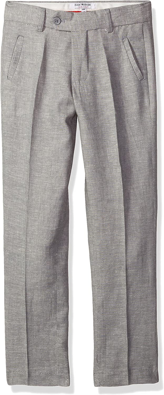 Isaac Mizrahi Boys Slim Linen Chambray Pants