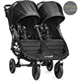 Baby Jogger City Mini GT Gemelar - Silla de paseo, color negro