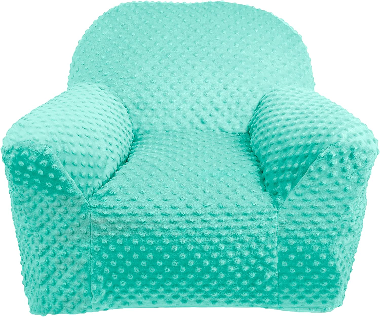 Standard 100/de /Öko Tex Grey lulando Plush Minky Baby Sill/ón infantil sof/á Mini Sill/ón Ni/ños Muebles para parte habitaciones y habitaci/ón Color