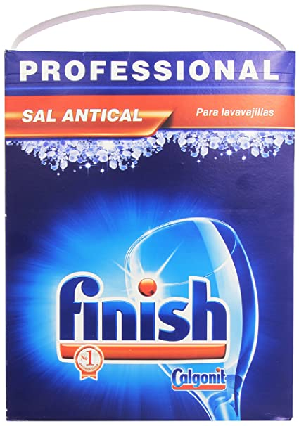 Finish Sal para lavavajillas Profesional - 6000 gr: Amazon.es ...