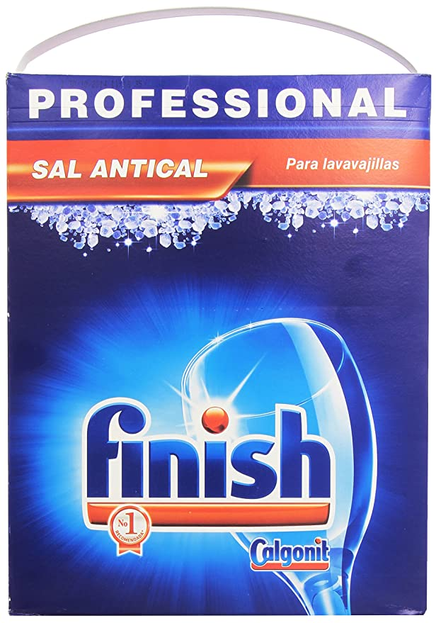 Finish Sal para lavavajillas Profesional - 6000 gr: Amazon ...