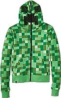 Minecraft Boys Creeper Premium Zip-Up Youth Hoodie