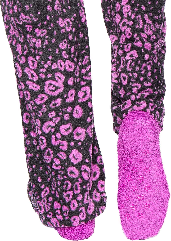 Noble Mount Damen Loungehose aus Micro Fleece