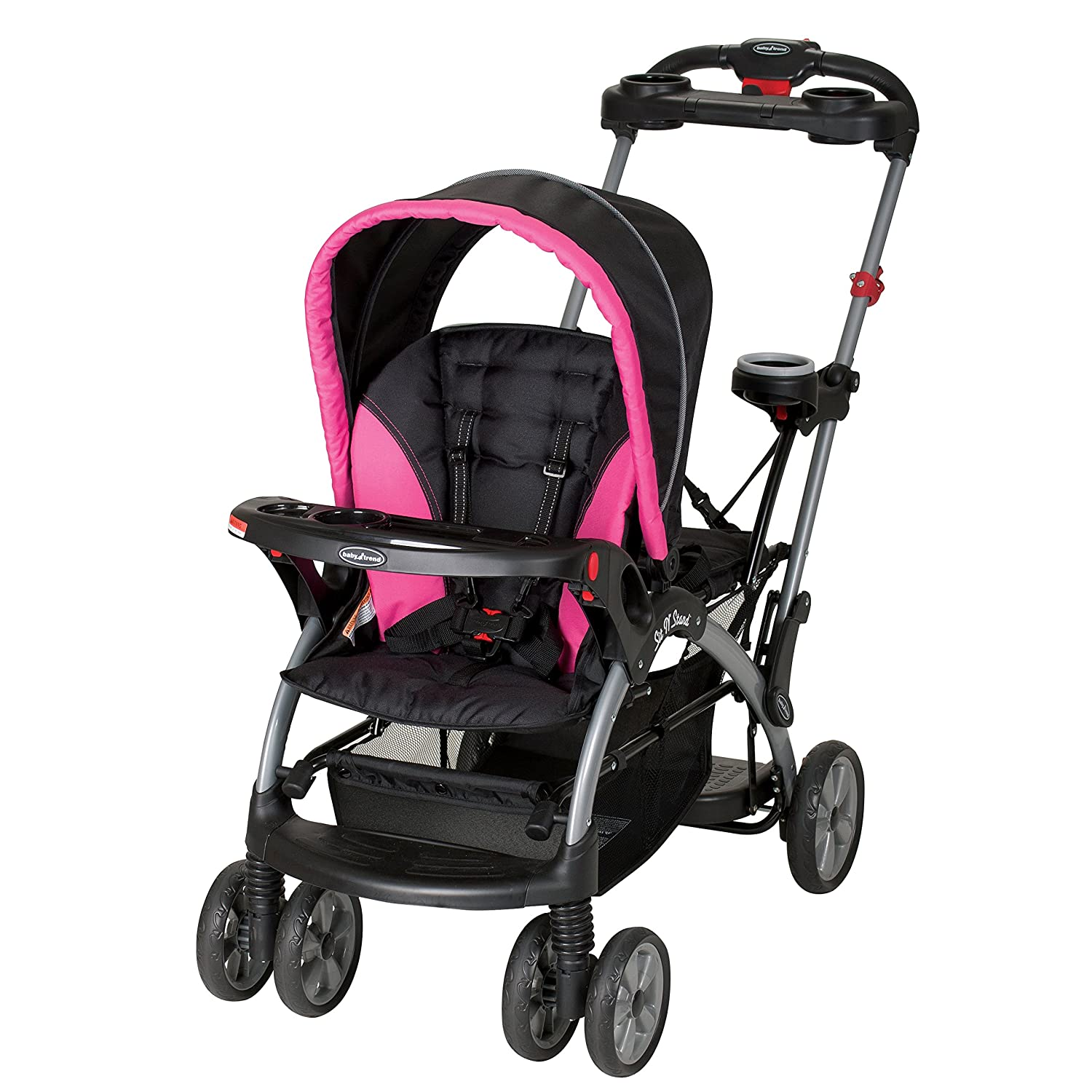 Amazon.com : Baby Trend Sit n Stand Ultra Stroller, Bubble Gum : Baby