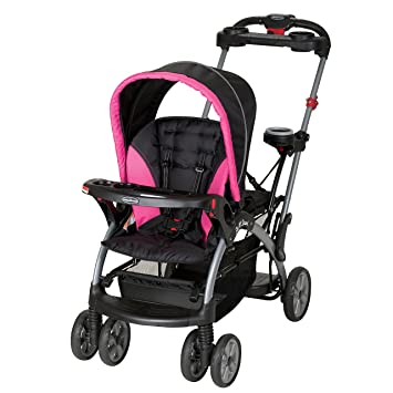 Baby Trend Sit N Stand Ultra Stroller Bubble Gum