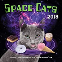 Space Cats 2019: 16-Month Calendar - September 2018 through December 2019