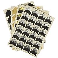 PuTwo Gommettes 18 Feuilles 1200 Gommettes pour Fujifilm Instax Mini Photo Autocollants pour Album Photo Scrapbooking Instax Mini Photo DIY Accessoires