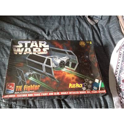 Star Wars Tie Fighter Plus Pack Model Kit: Toys & Games