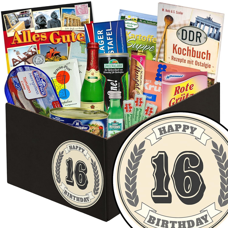 Geburtstagsgeschenk 16. - DDR Waren 24tlg. - Geschenke 16 Geburtstag B07DW52Y4B | Realistisch