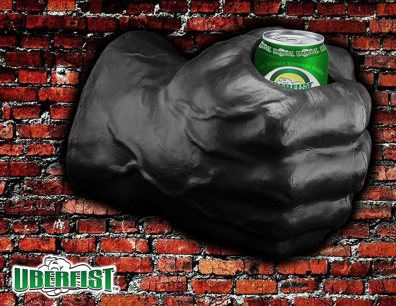 UBERFIST Hulk fist Beverage Holder, Right Handed, Black Sports Fan