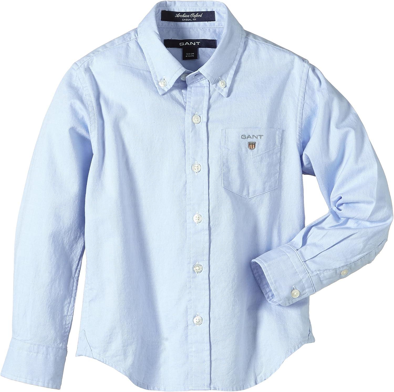 Gant Oxford - Camisa para niño, color blau (sea blue 451 ...