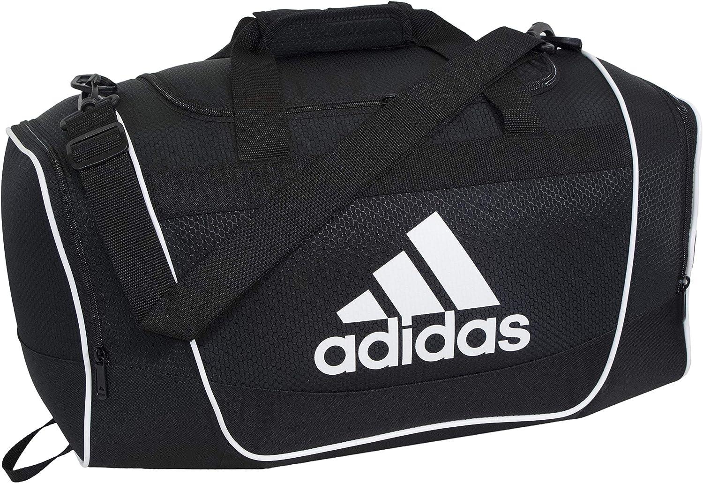 adidas Unisex Defender II Medium Duffel Bag, Black, ONE SIZE: Clothing