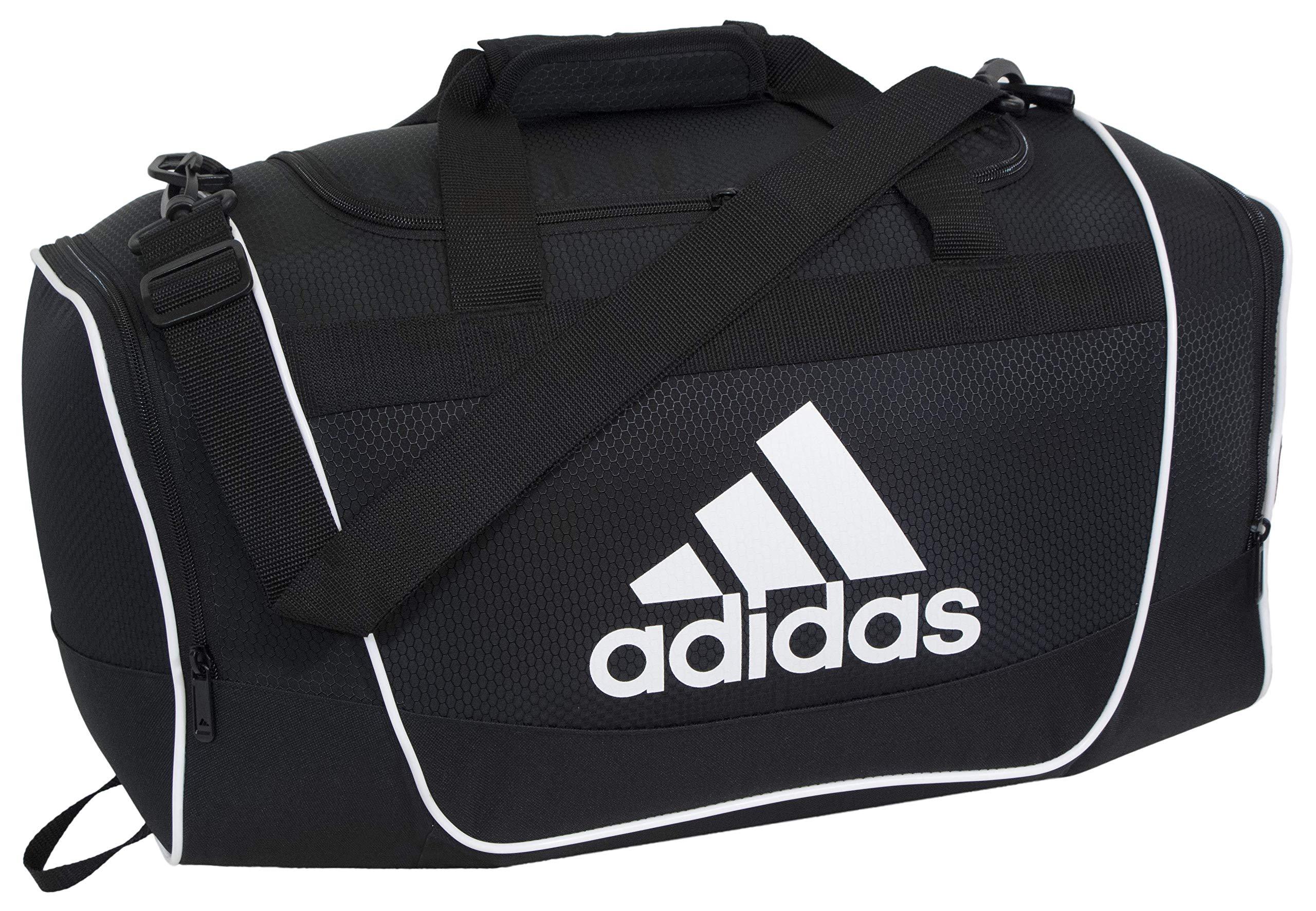 adidas Unisex Defender II Large Duffel Bag, Black, ONE SIZE by adidas