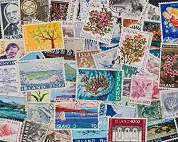 Goldhahn 100 Schiffe Briefmarken f/ür Sammler