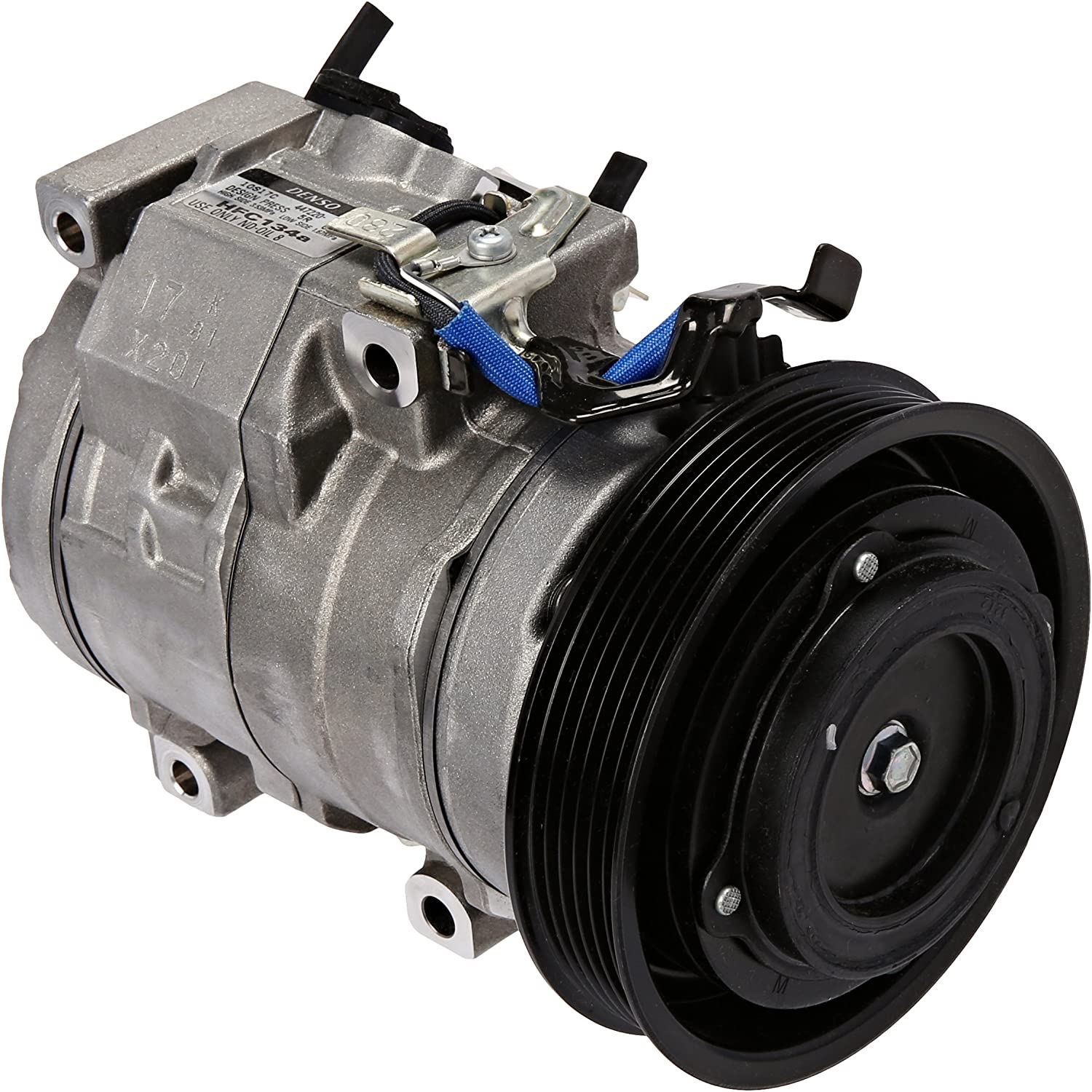 Denso 471-1416 New Compressor with Clutch