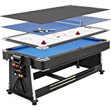 Strikeworth 6 Foot Multi Games Table Amazon Co Uk Toys
