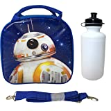 Disney Star Wars Blue Bb-8 Lunch Bag with Water Bottle & Adjustable Shoulder Strap