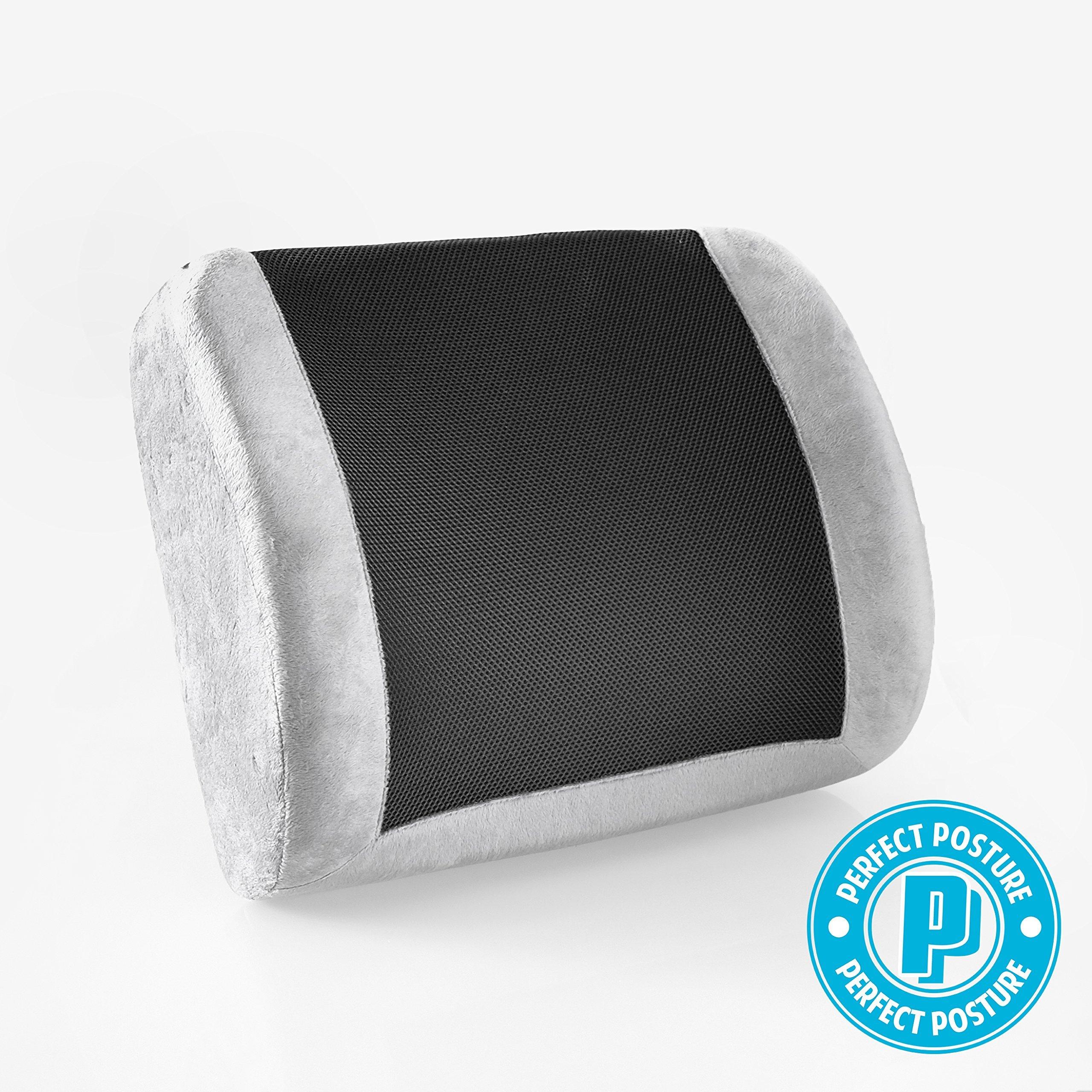 Amazon Com Perfect Posture Memory Foam Seat Cushion