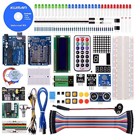 Kuman K21 Mega 2560 Starter Kit Para Arduino Servo Motor Sensor Módulos Lcd Con Mega 2560 En Nuez De 35 Por Componentes Del Proyecto De Aprendizaje