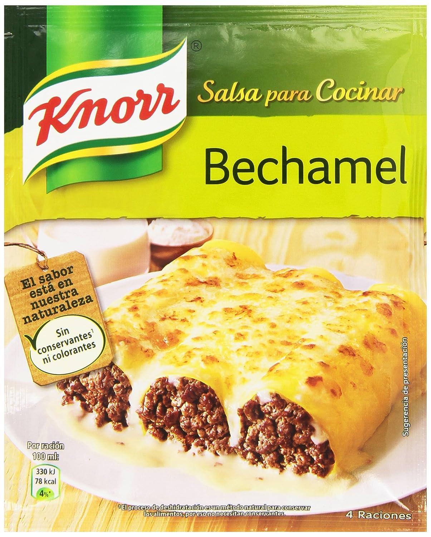 Knorr Salsa Deshidratada de Bechamel - 38 gr: Amazon.es: Alimentación y bebidas