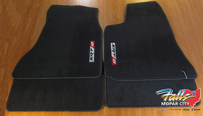 Amazon Com Oem Chrysler 300 Srt Carpet Floor Mats Dark Slate