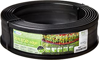 product image for Suncast 20' Professional Landscape Edging Roll - Plastic Lawn Edging Border for Garden, Flower Beds, and Landscape - Conforms to Any Shape - 20' Coiled Roll - Black