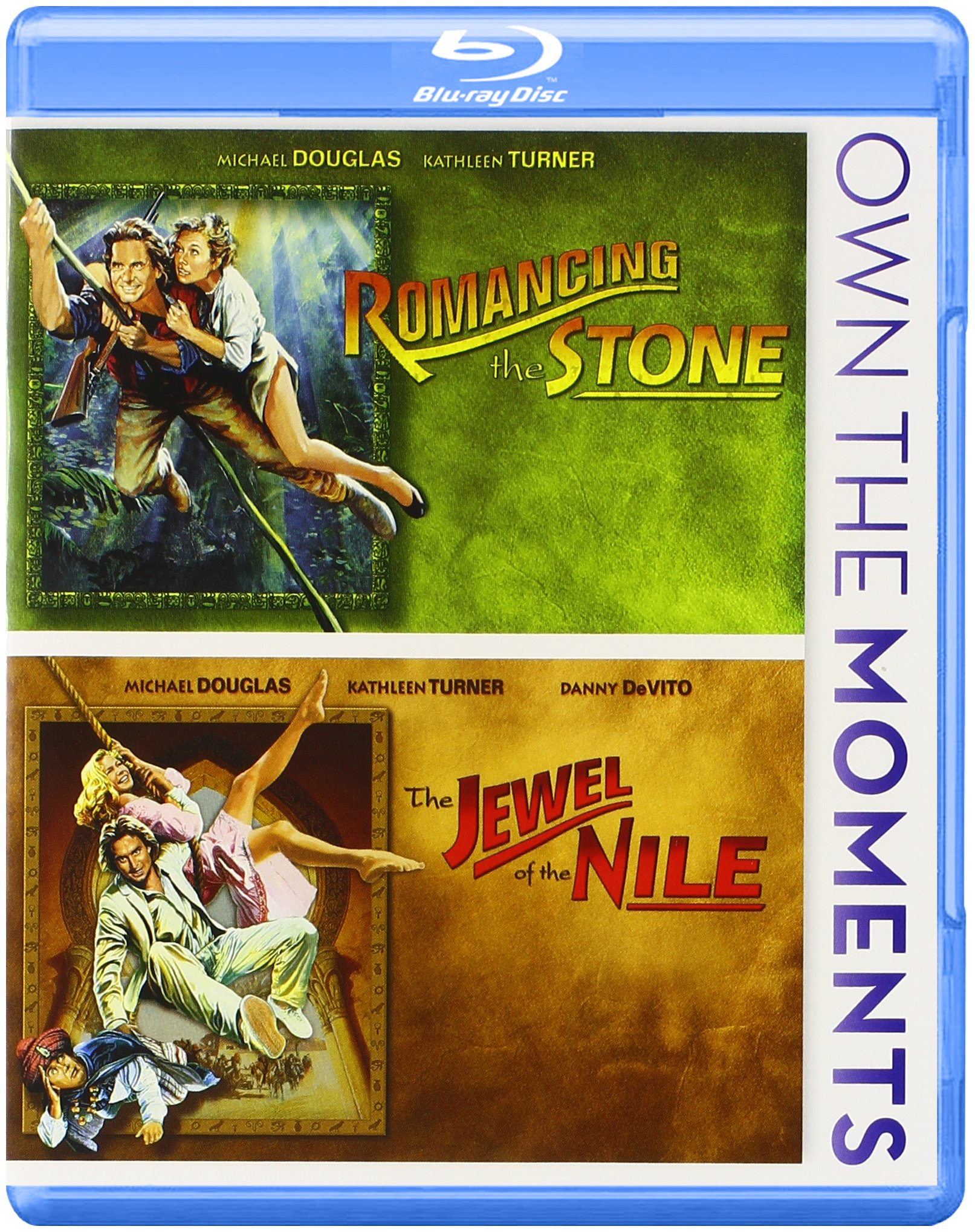Blu-ray : Romancing The Stone/ Jewel Of The Nile (Widescreen)