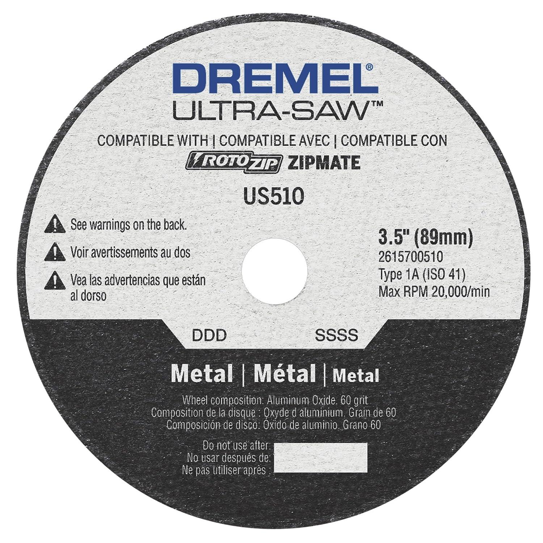 Dremel Us510 01 Ultra Saw 3 5 Inch Metal Cutting Wheel Ca Tools Home Improvement