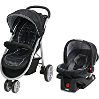 Graco Aire3 Click Connect Travel System, Gotham, One Size