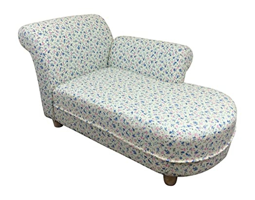 Kids/Childrens/Toddler Floral Chaise Lounge Chair  sc 1 st  Amazon UK : childrens chaise lounge - Sectionals, Sofas & Couches