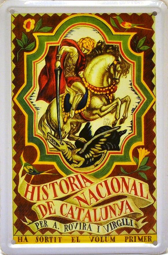 ART ESCUDELLERS Imán Cartel Poster publicitario de Chapa metálica ...