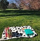 Cute New York Baby Blanket, Cow Pattern