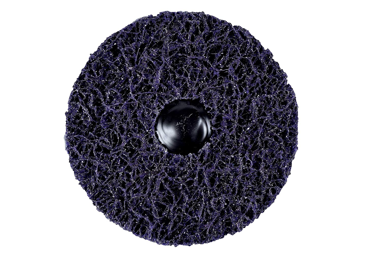 10 per case 3M Scotch-Brite Roloc+ Clean and Strip XT Pro Extra Cut Disc TR+ A XCS 2-ply 4 in x 1 in