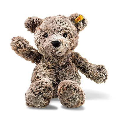 "Steiff Soft Cuddly Friends - Terry Teddy Bear 18"", Mottled Brown: Toys & Games"