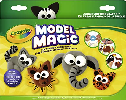Amazon.com: Crayola Model Magic Creative Critters Jungle ...