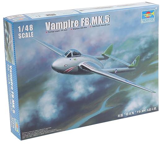 1 opinioni per 1/48 Modellino Aereo De Havilland Vampire FB.5 (Importato da Giappone)