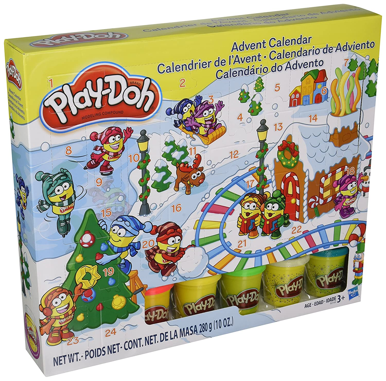 Play-Doh Advent Calendar Toy Kids