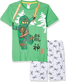4e7d1669e504 Lego Ninjago Masters of Spinjitzu Pyjamas: Amazon.co.uk: Clothing