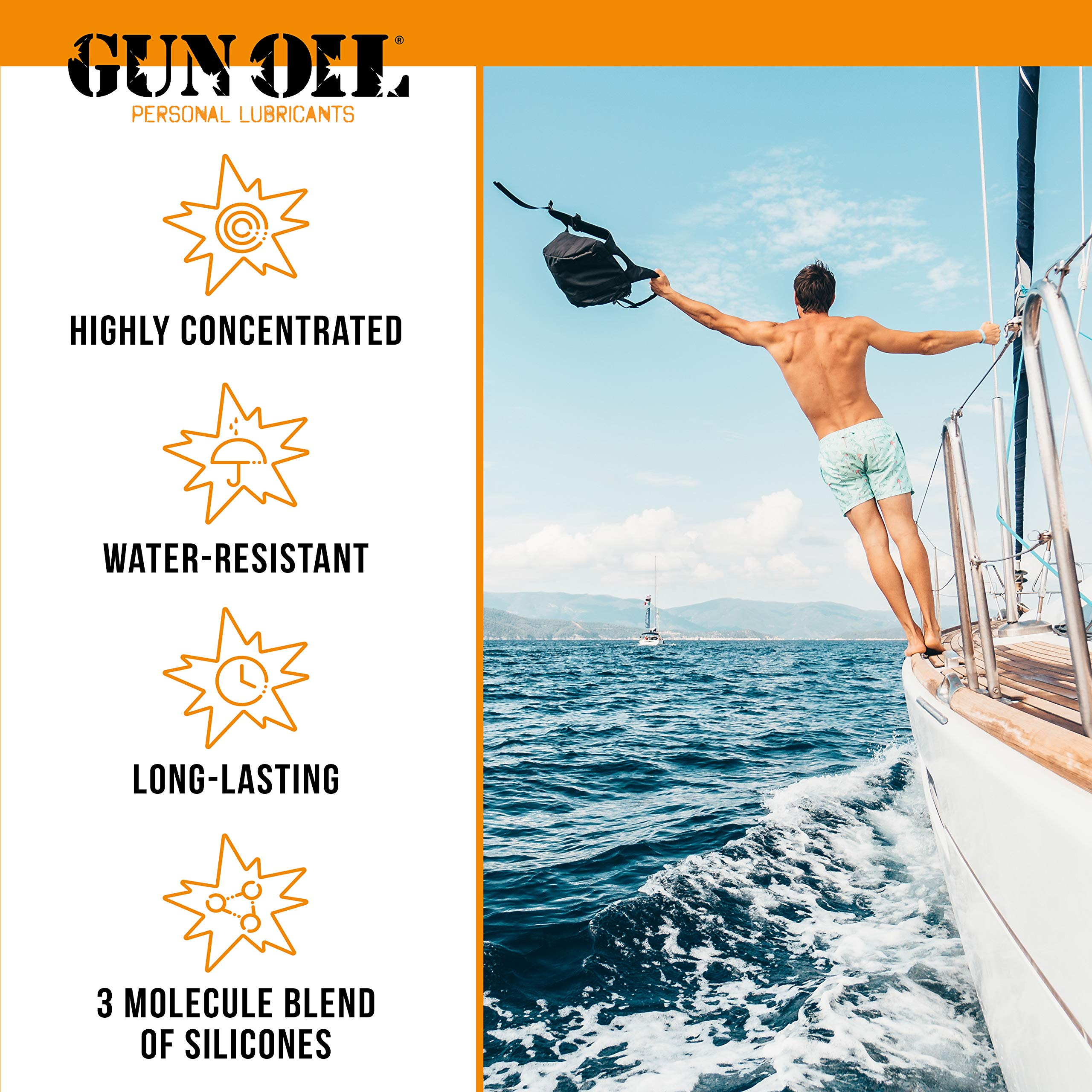GUN OIL Silicone Lubricant - Hypoallergenic Silicone-Based Lubricant for Long-Lasting Lubrication (16 oz) by Gun Oil (Image #3)