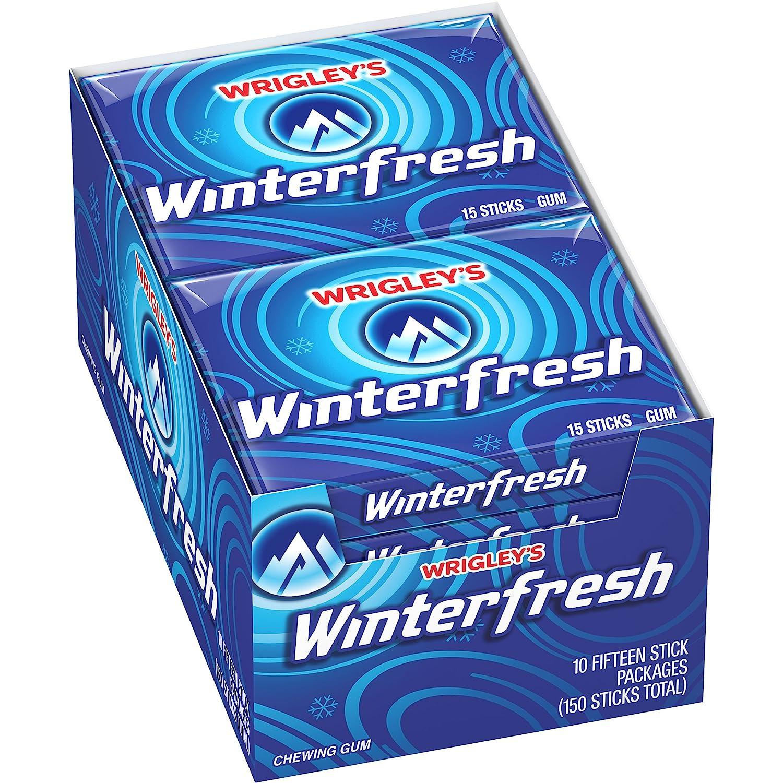 Wrigley Slim Pak Winterfresh Gum (x10 Units), 0.41-Kilogram Cwiner Industries LTD 0806462