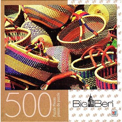 Baskets 500 Piece Puzzle: Toys & Games