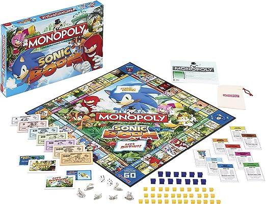 Sonic Boom Monopoly Juego de Mesa Standard: Amazon.es: Juguetes y juegos